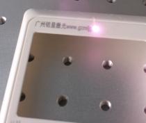 塑料开关插座激光打标视频