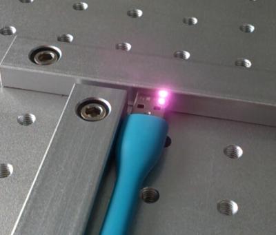 金属激光打标视频,USB接口激光打标