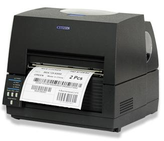 Citizen西铁城CL-S6621宽幅条码打印机6.6英寸168毫米标签